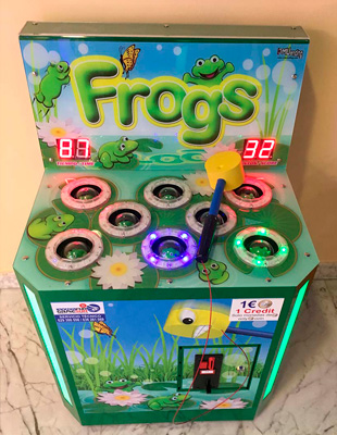 maquina frogs